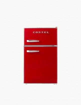 코스텔 클래식 레트로 냉장고 86L 빈티지 레드 CRS-86GARD