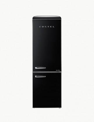 코스텔 클래식 레트로 냉장고 300L 엣지 블랙 CRS-300GABK