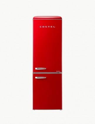코스텔 클래식 레트로 냉장고 300L 빈티지 레드 CRS-300GARD